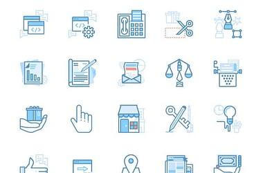 40 seo & web marketing Icons