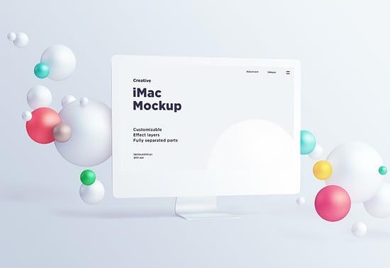 Mac PSD mockup