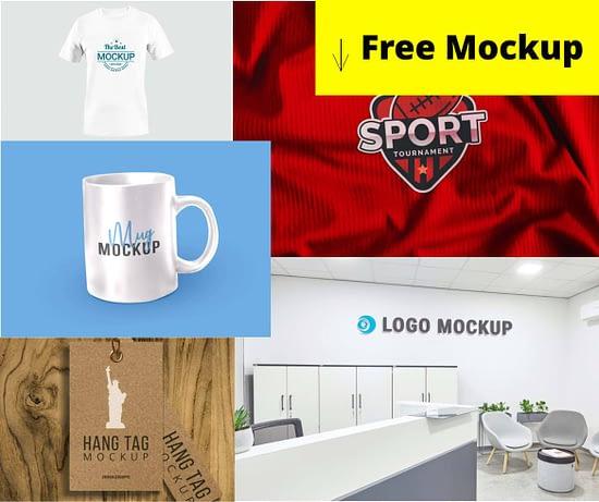 16 Free Packaging And General Purpose Mockups