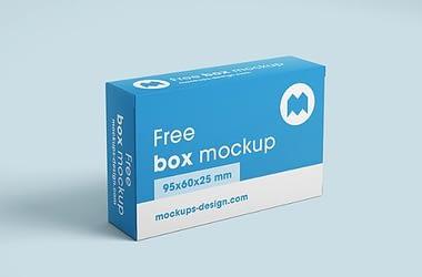Pharma box Mockup