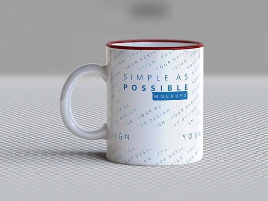 Free Photo-realistic Mug Mockup