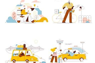 Transport-Illustrations
