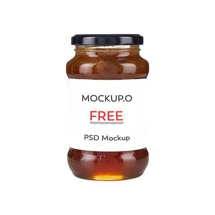Honey Jar Mockup Branding And Packaging design
